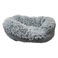 See more information about the Rosewood 40 Winks Faux Suede Dog Sleeper 20 inch (55cm)