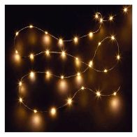 See more information about the 80 LED Warm White Indoor Static Fairy Lights Battery 4m