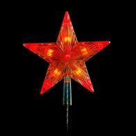 22cm tree Topper Star Multi LED