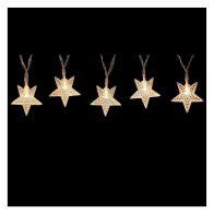 50 Light Star Light Chain Warm White LED