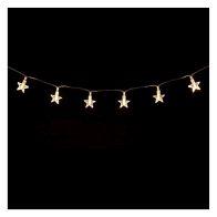 20 Light Star Warm White LED Light Chain