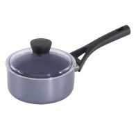 Pyrex Gusto Black Diamond Saucepan 16cm With Lid