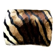 See more information about the Your Home 150 x 200cm Animal Skin Beige & Brown Throw