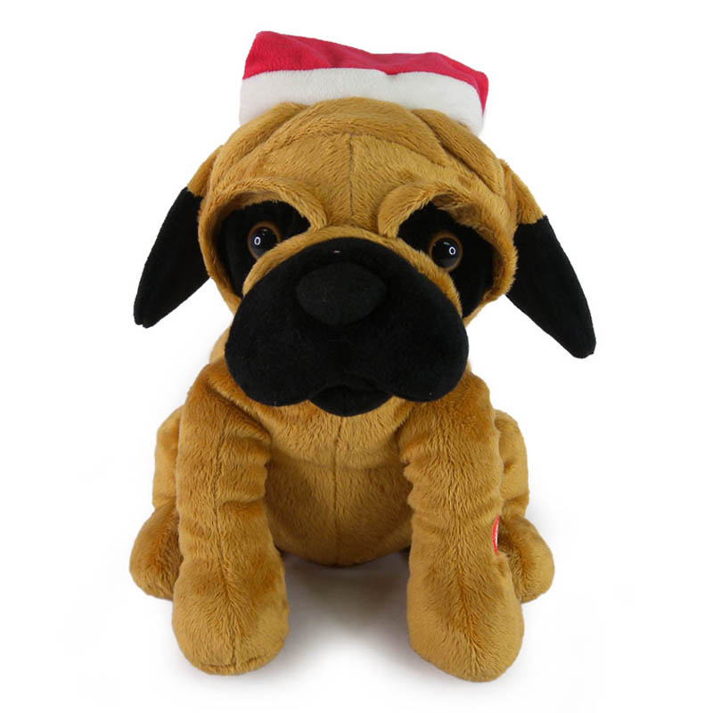 See more information about the Christmas Pug Dog