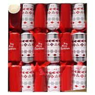 6 Family Christmas Crackers (15 Inch) - Very Merry Christmas