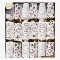 6 Family Christmas Crackers (15 Inch) - Holly Jolly