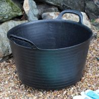 See more information about the Kingfisher Growing 15 Litre Black Rubber Tub with Carry Handles