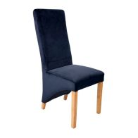 See more information about the Baxter Black Velvet Chair