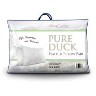 See more information about the Sleepworks 2 Pack Pillow Duck Feather