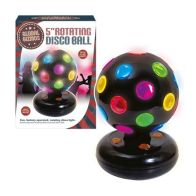See more information about the 5 Inch Disco Ball Light Black