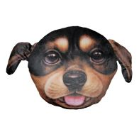 See more information about the 32cm Animal Plush Pillow - Rottweiler Puppy