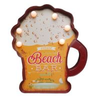See more information about the Beer Sign LED Plastic - Beach Bar Design