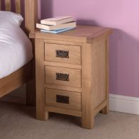 See more information about the Cotswold Bedside Oak 3 Drawers