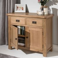 See more information about the Cotswold Sideboard Oak 2 Door 2 Drawer