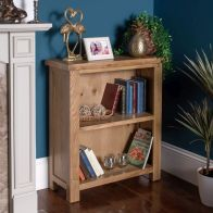 See more information about the Cotswold Low Bookcase Oak 2 Shelf