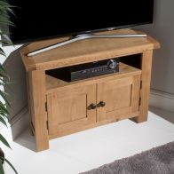 See more information about the Cotswold Corner TV Unit Oak 2 Door 1 Shelf