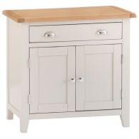 See more information about the Elsing Pine 1 Drawer 2 Door Small Sideboard