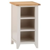 See more information about the Elsing Pine Small Narrow Bookcase (90cm)