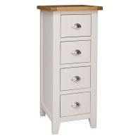 See more information about the Elsing Pine 4 Drawer Narrow Chest