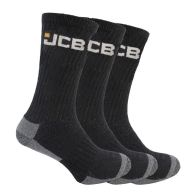 See more information about the 3 Pack Mens Black Work Socks