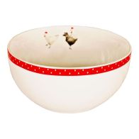 Red Chickens Bowl
