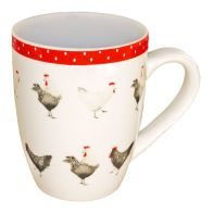 Red Chickens Mug