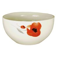 See more information about the Red Floral Bowl