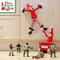 See more information about the Elves Behavin' Badly Elvie Red Girl Elf 12 Inch