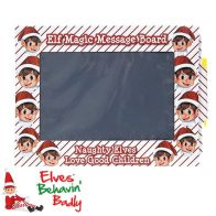 See more information about the Elves Behavin' Badly Reusable Magic Message Board