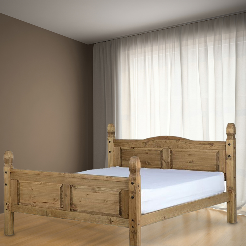 See more information about the Corona Pine Double Bed 4ft 6in Bed Frame