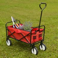 See more information about the Growing Patch Red Folding Cart 80kg Load Capacity