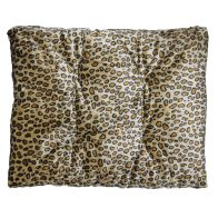 See more information about the Pet Bed - 90x70cm Polar Fleece - Dark Brown Animal Print