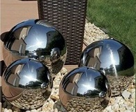 See more information about the Decorative Stainless Steel Orbs 4 Pack