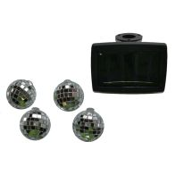 See more information about the Bright Garden 10 Solar Disco Ball Colour Changing String Lights