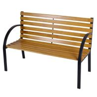 See more information about the 12 Slats Wooden Bench