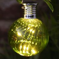 See more information about the Bright Garden Solar Glass Bulb Light - Green
