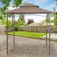 See more information about the Croft Luxury Outdoor Garden BBQ Shelter