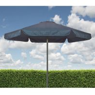 See more information about the Croft Blue 2.2m Three Position Tilt Aluminium Outdoor Garden Parasol