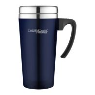 See more information about the Translucent Travel Mug (420ml) - Blue