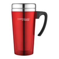 See more information about the Translucent Travel Mug (420ml) - Red