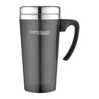 See more information about the Translucent Travel Mug (420ml) - Gun Metal