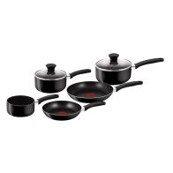 See more information about the Tefal Delight 5 Piece Saucepan & Fry Pan Non Stick Thermo Spot Cook Se