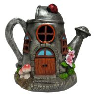 See more information about the Magical Garden Solar Powered Woodland Novelty House - Watering Can