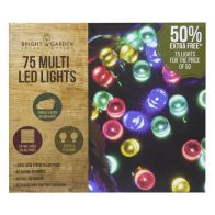 See more information about the Bright Garden 50Pk Multi Col Solar Lights +50% Free