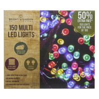 See more information about the Bright Garden 100Pk Multi Col Solar Lights +50% Free