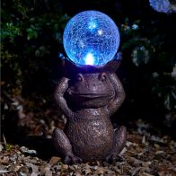 See more information about the Bright Garden Solar Gazing Frog