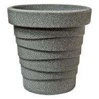 See more information about the 34cm Small Round Trojan Pot Granite