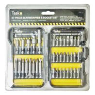 See more information about the 37Pc Driver Bit Drill Set Black Case
