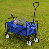 See more information about the Growing Patch Blue Folding Cart 80kg Load Capacity