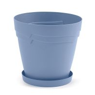 See more information about the 28cm Round Boston Planter Blue